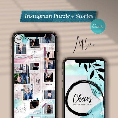 milano instagram puzzle instastories