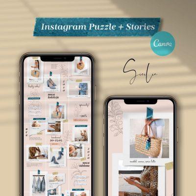 sicilia instagram puzzle instastories
