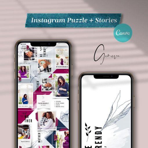 genova instagram puzzle instastories